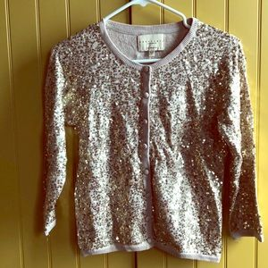 Gold sequins sweater